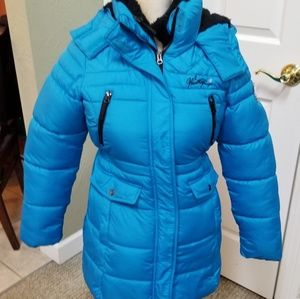 Weatherproof girls puffer winter jacket Lg, 14